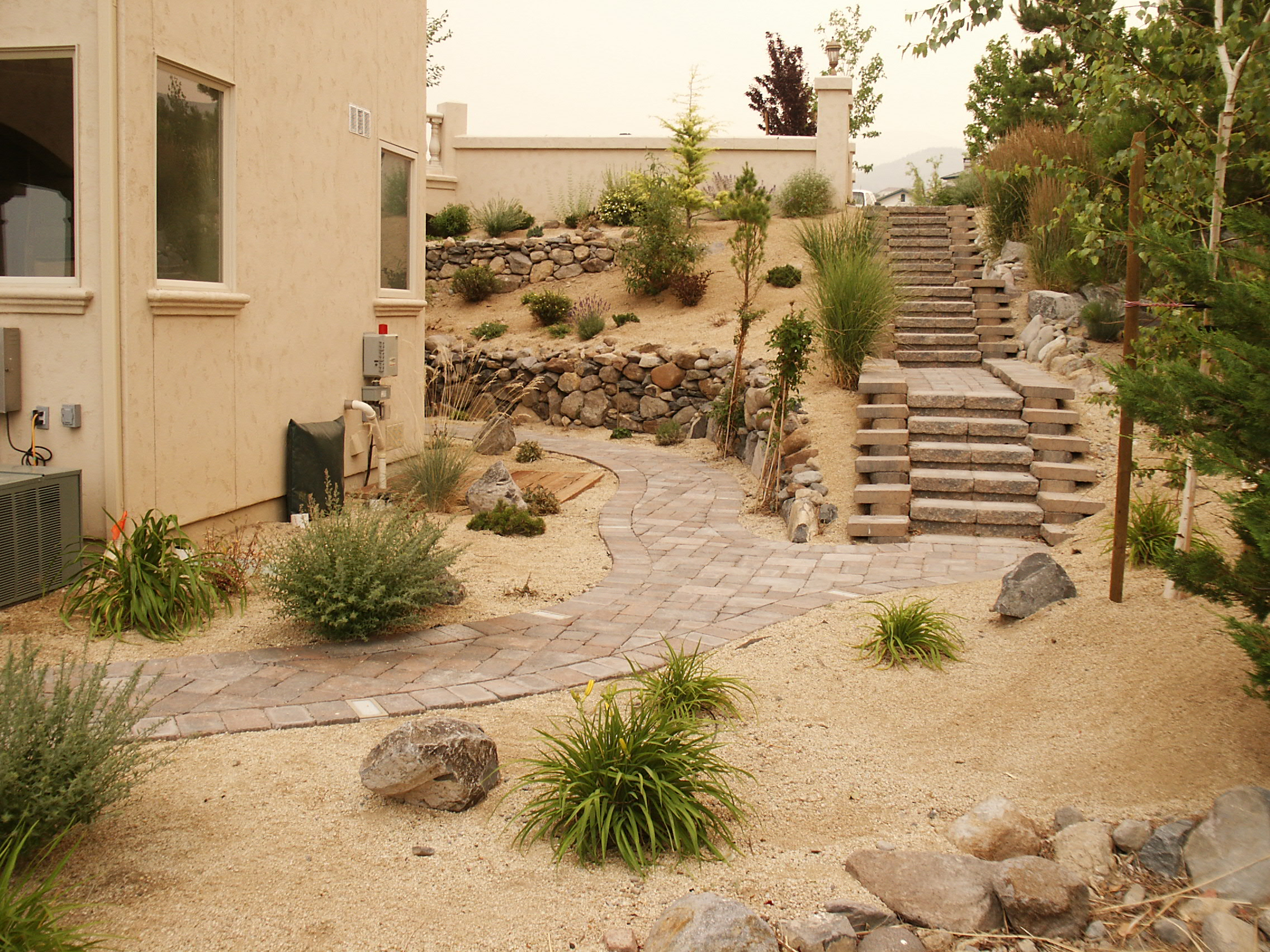 landscaping reno carson city nv action lawn landscape